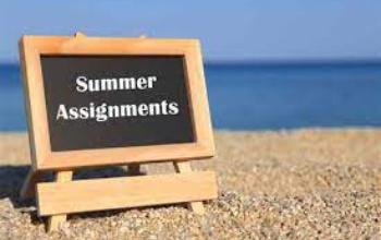 Summer Assignments