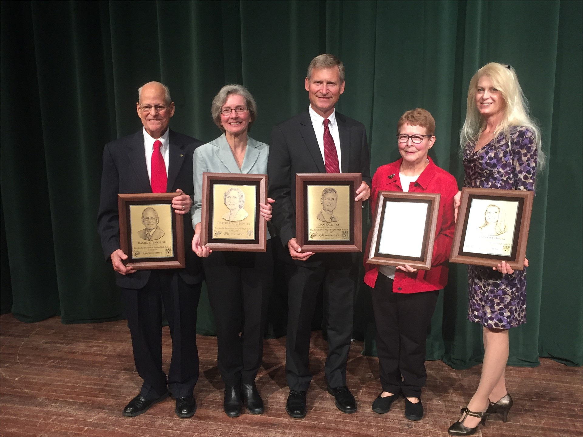 Alumni Association Gallery of Achievement Inductees c/o 2016