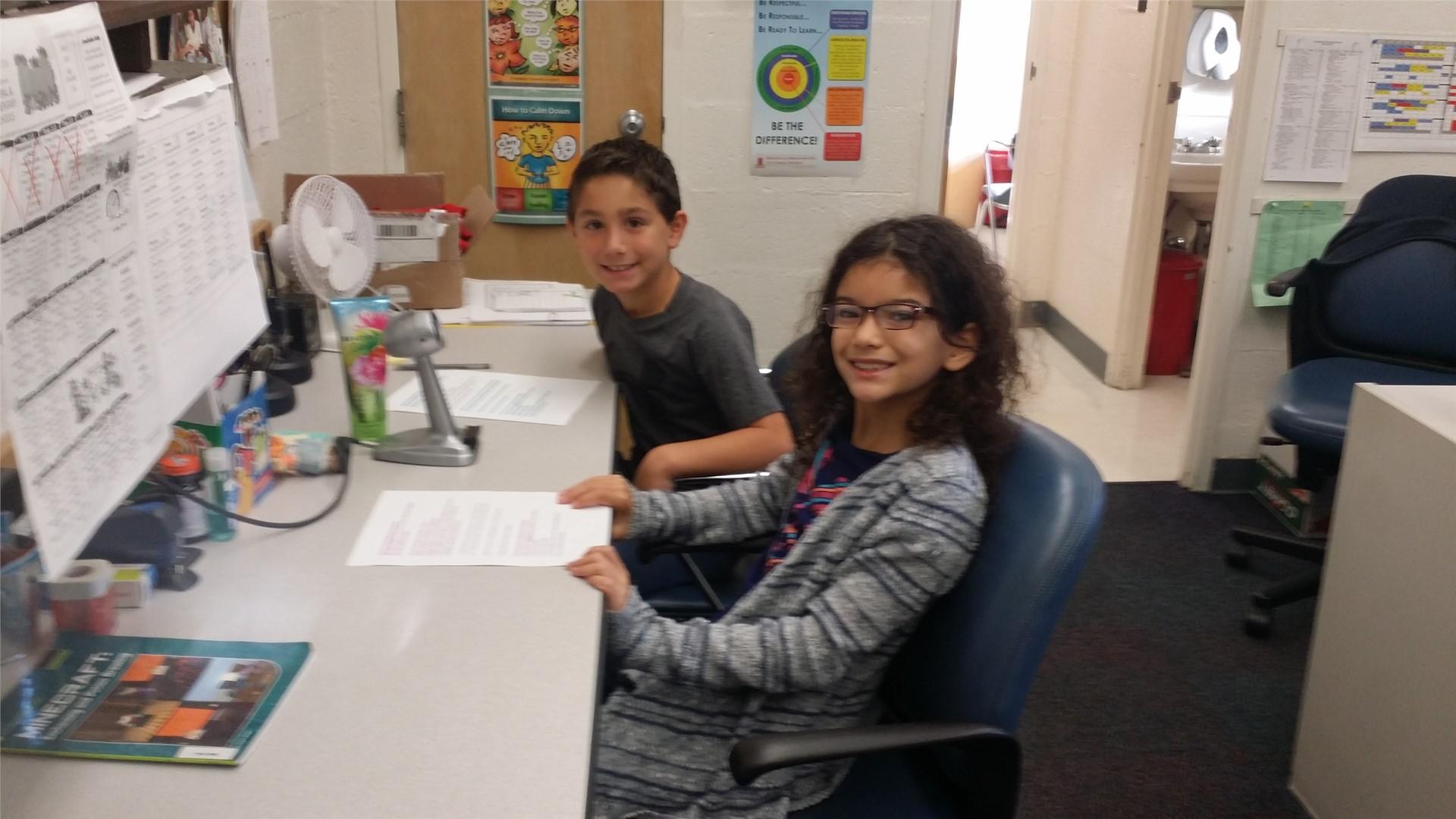 November 7-11, Alana A. & Jacob E.