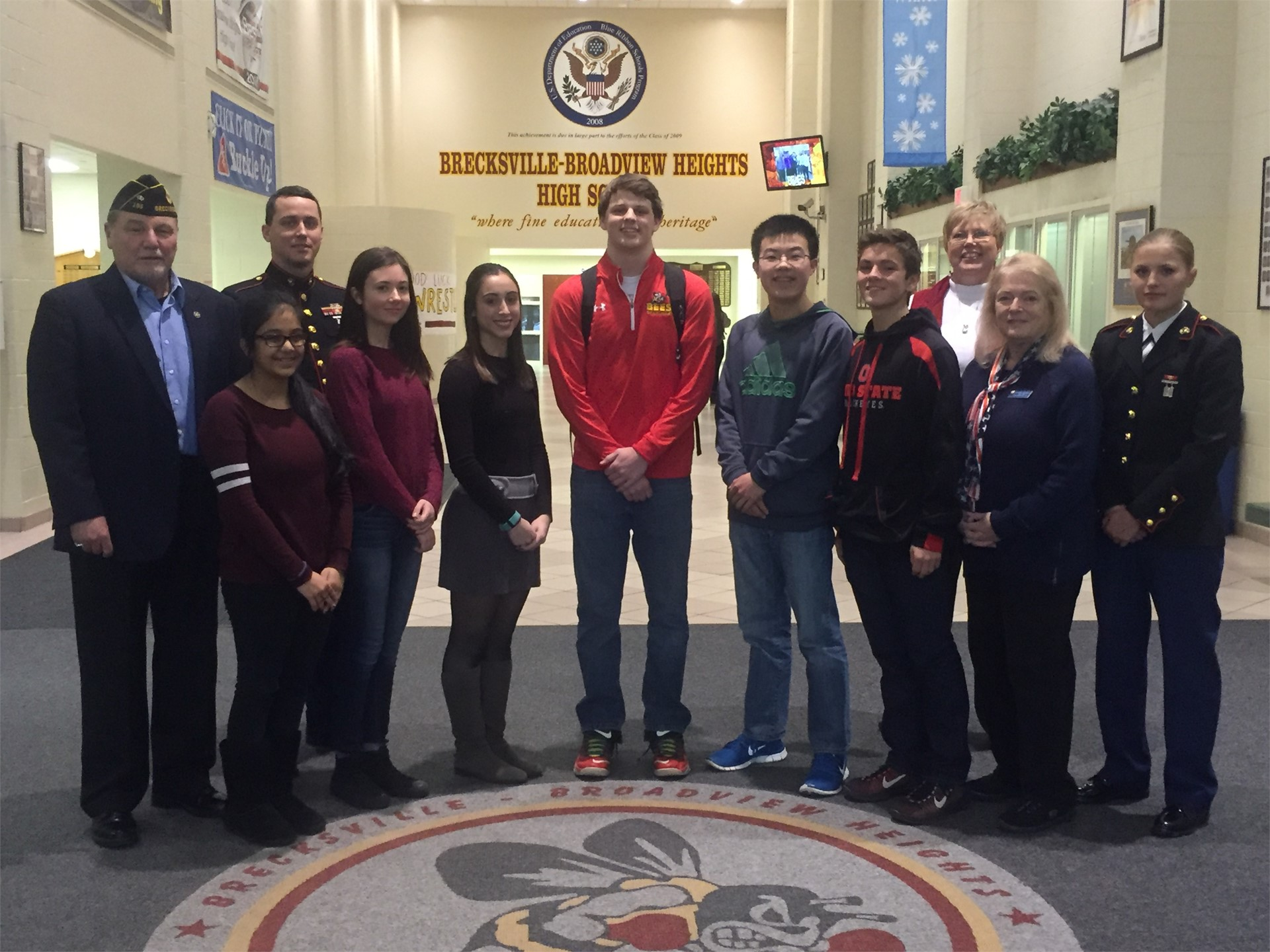 Americanism & Government Test Winners