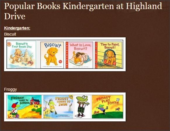 Kindergarten Favorites