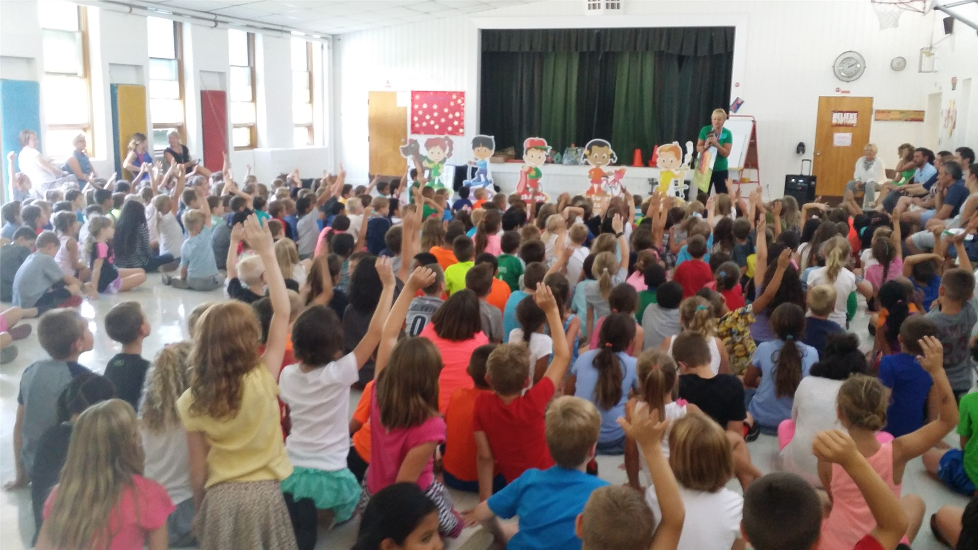 Heinen's Assembly- Healthy Eating 8/29/16