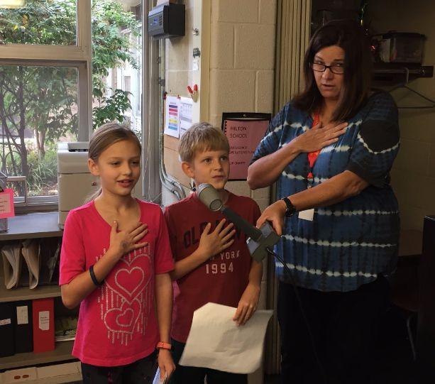 Pledge of Allegiance October 2