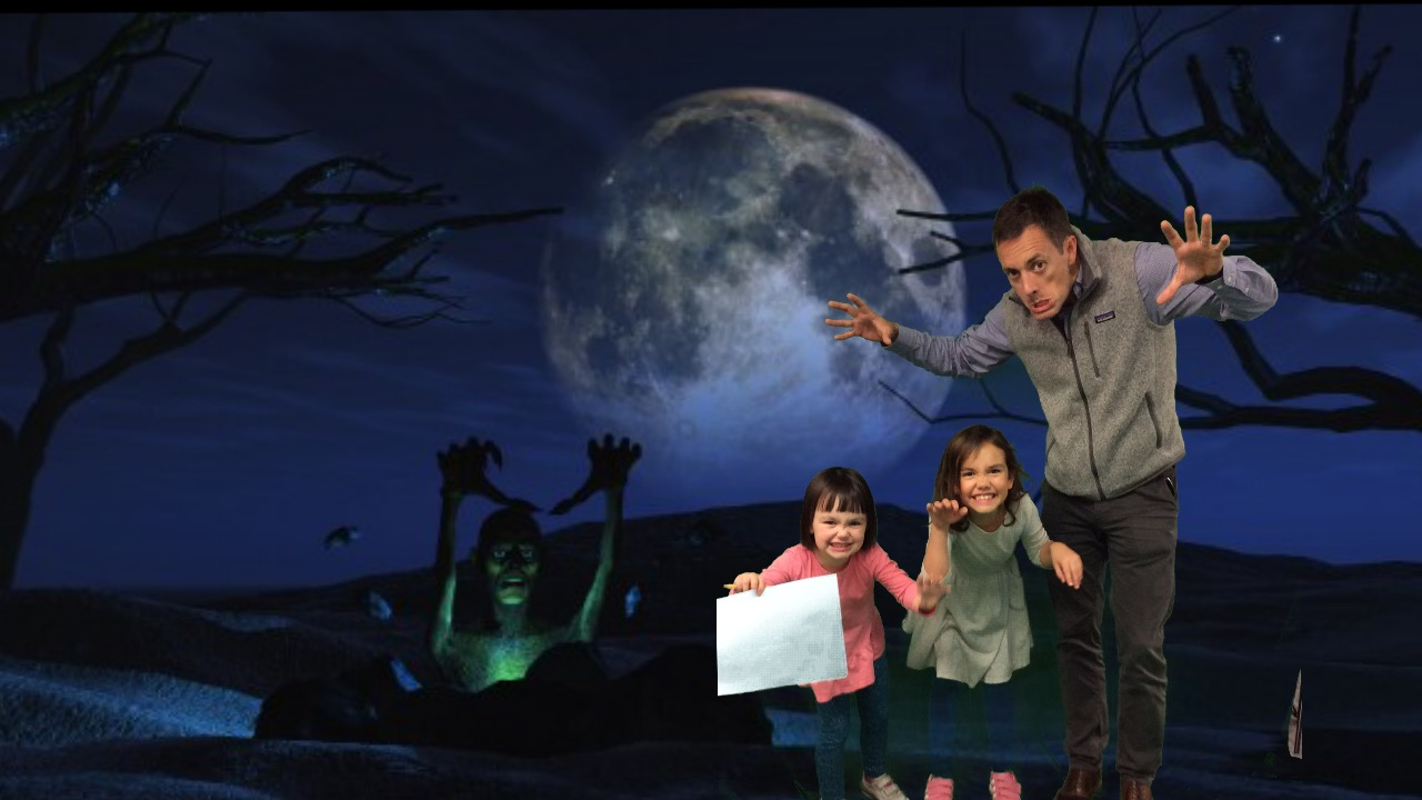 From Green Screen to Halloween!