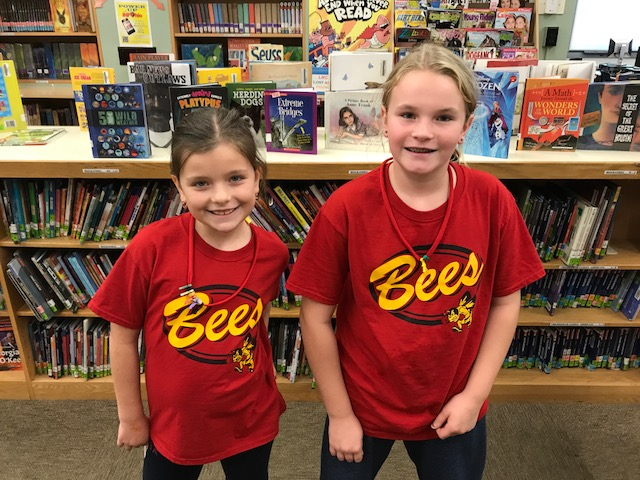 Girls in Bees shirts