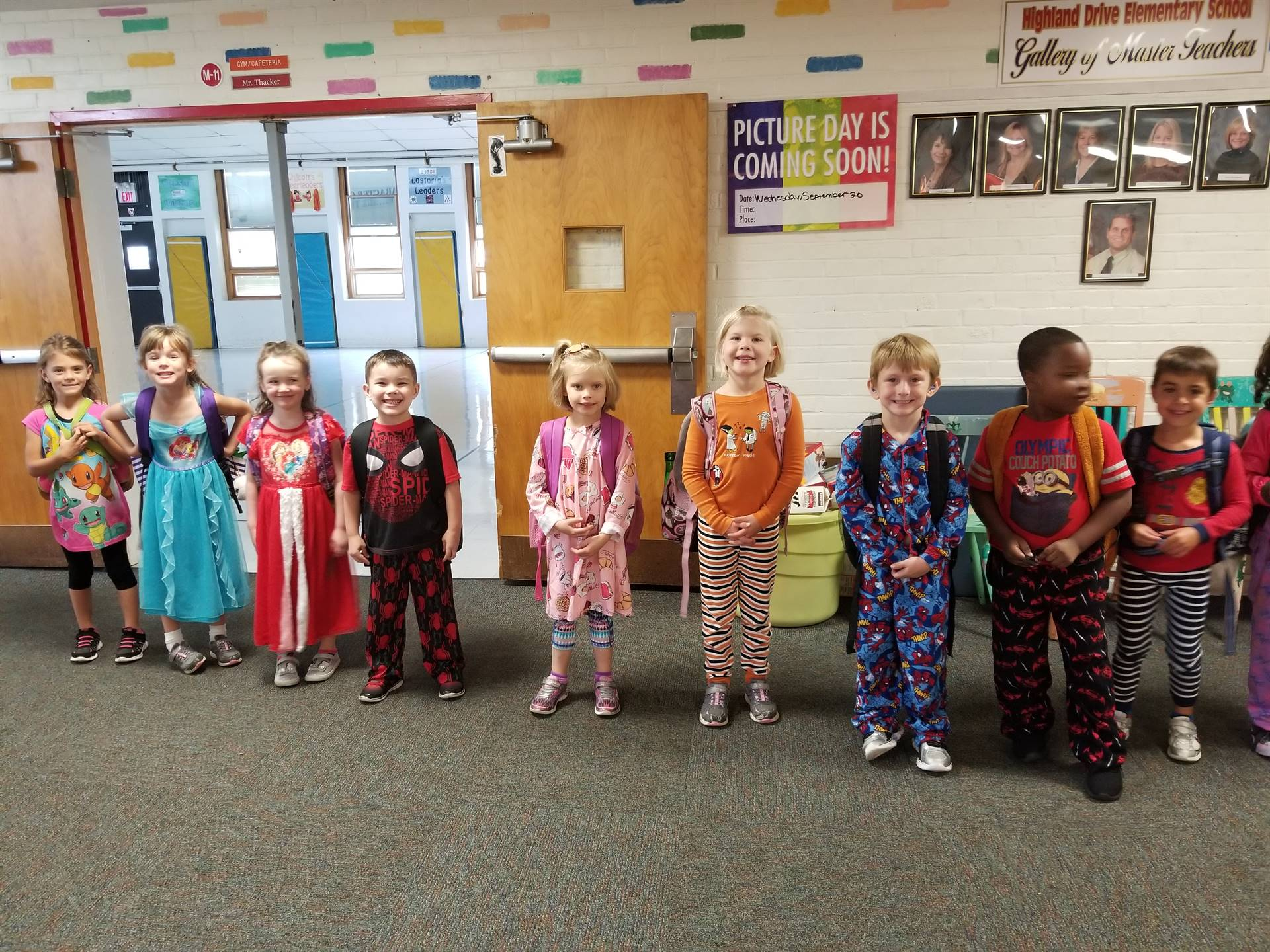 Pajama Day Spirit Week 30