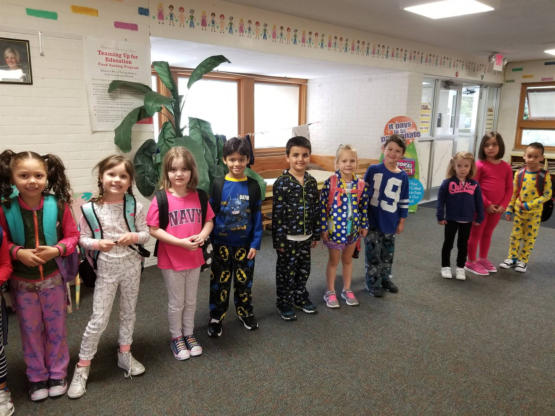 Pajama Day Spirit Week 32