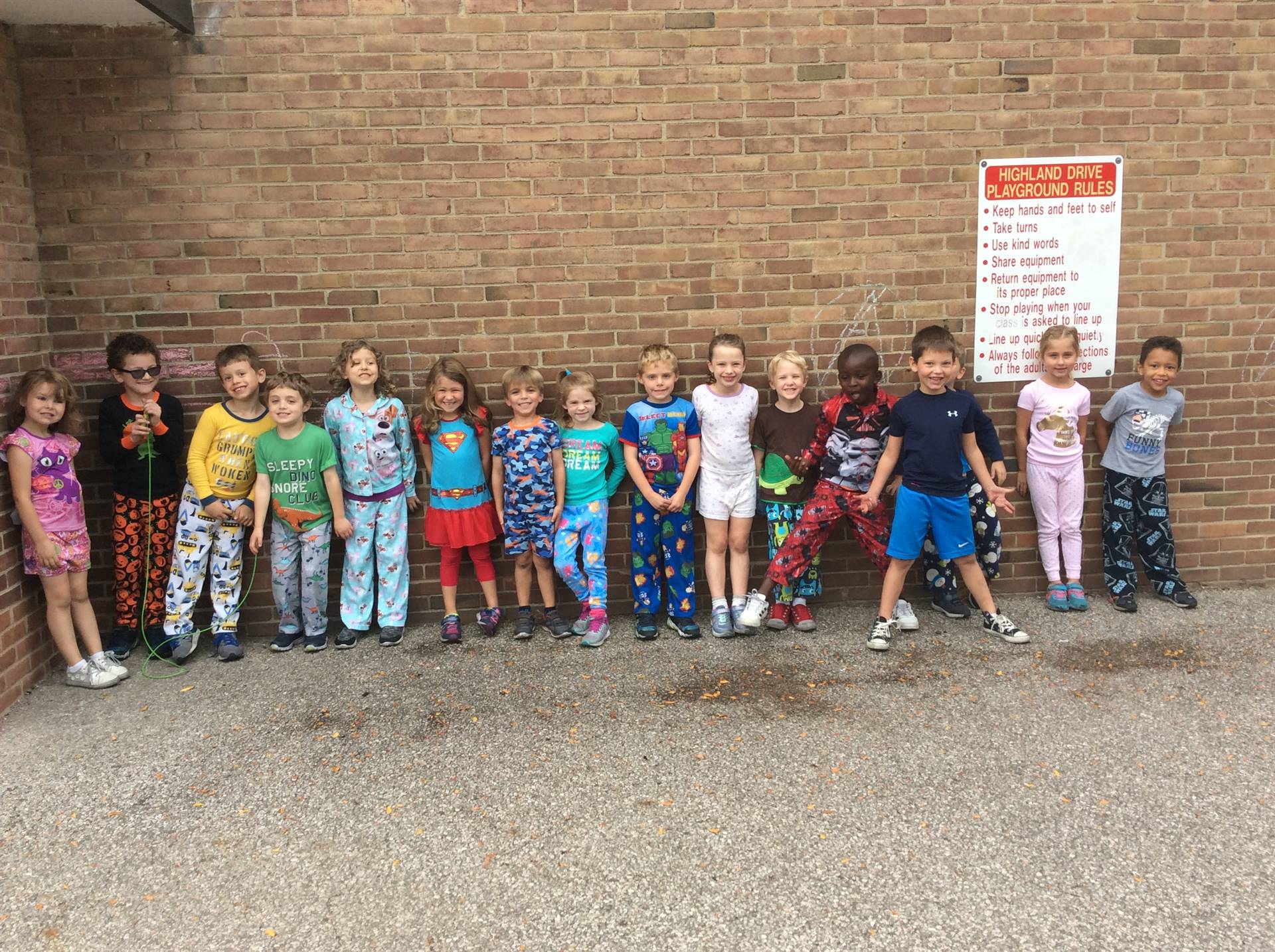 Pajama Day Spirit Week  22