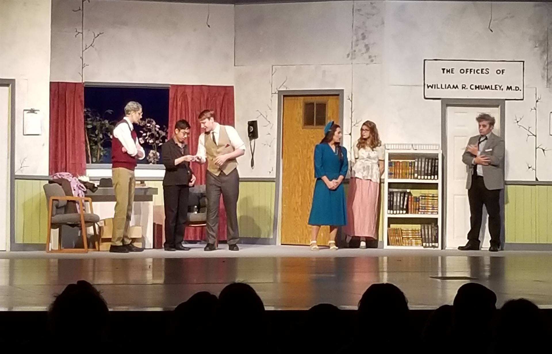 Harvey fall play pic