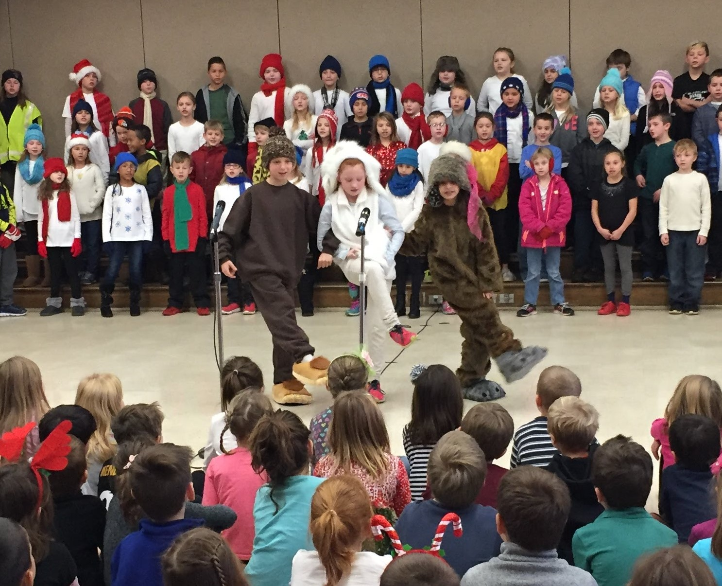 3rd Grade Musical Production 12
