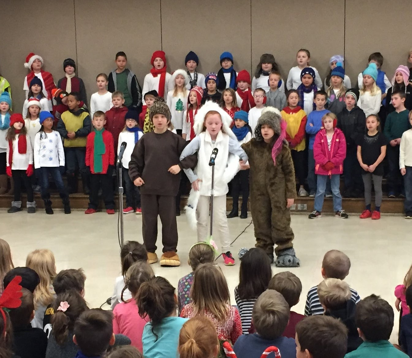 3rd Grade Musical Production 11