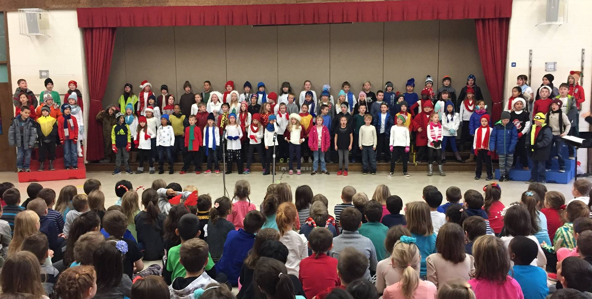 3rd Grade Musical Production 9