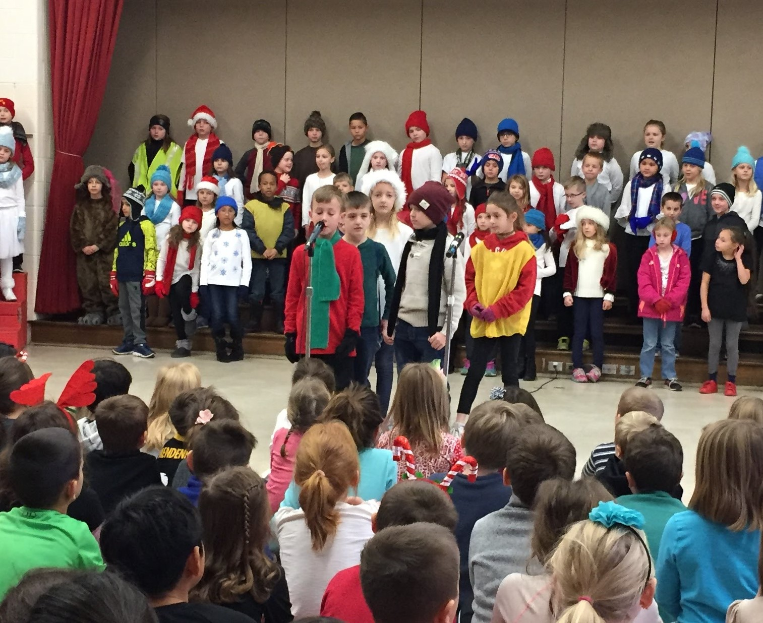 3rd Grade Musical Production 6