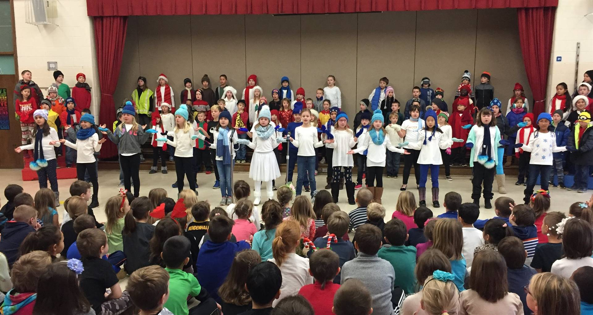 3rd Grade Musical Production 5