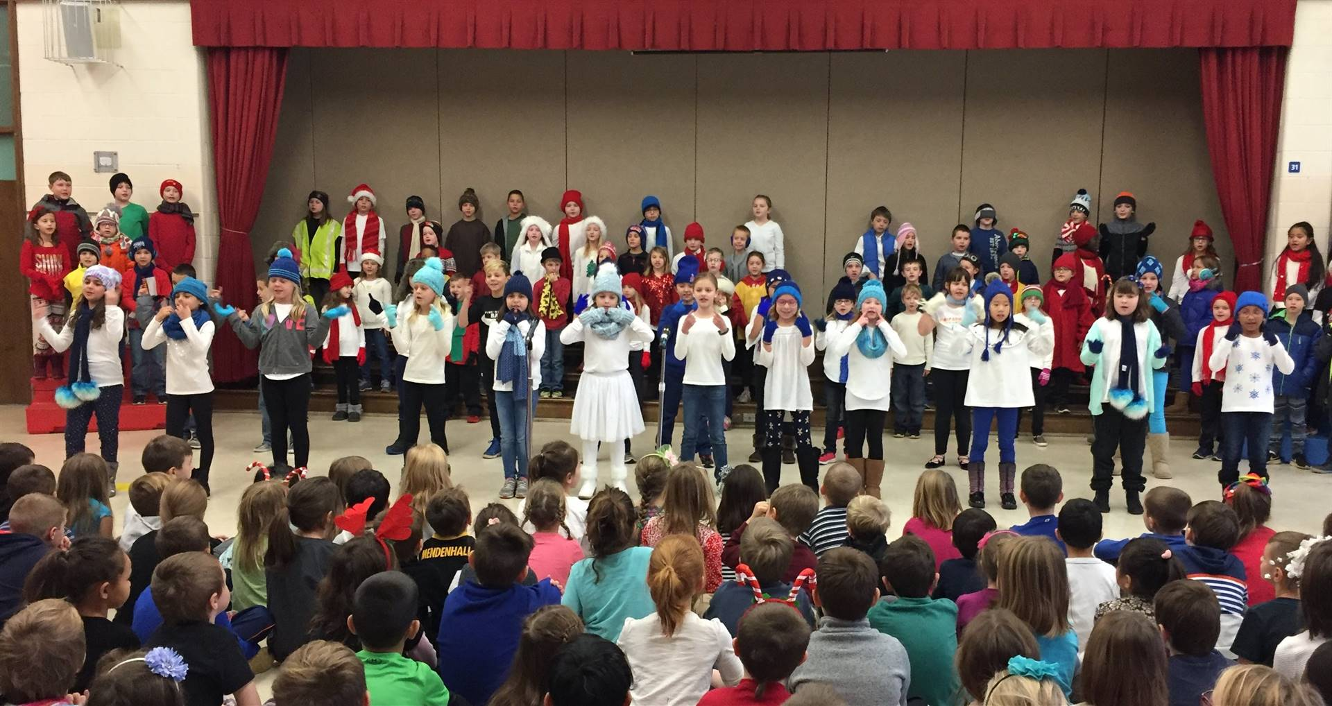 3rd Grade Musical Production 4