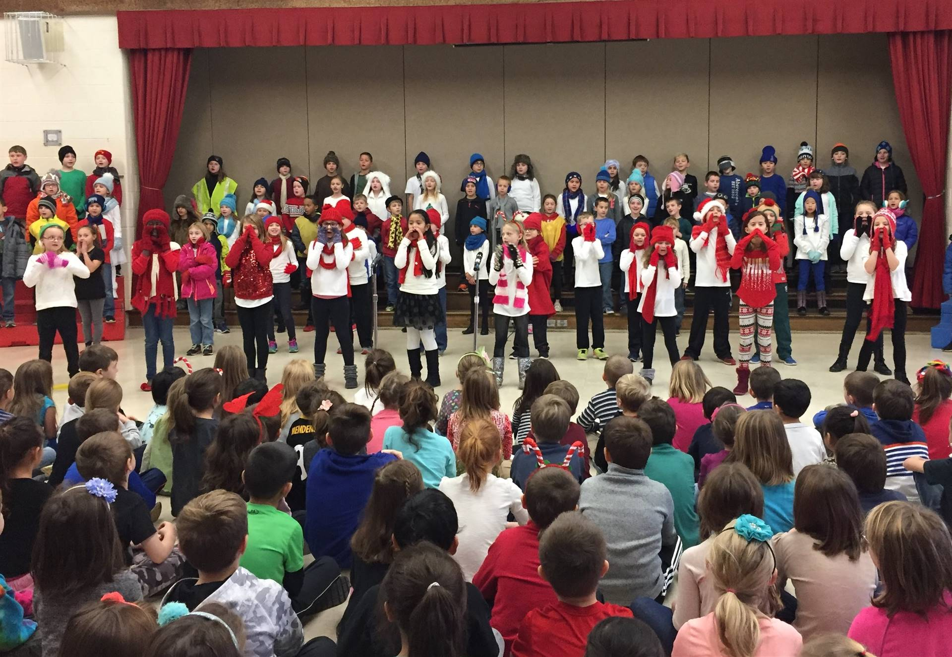 3rd Grade Musical Production 3
