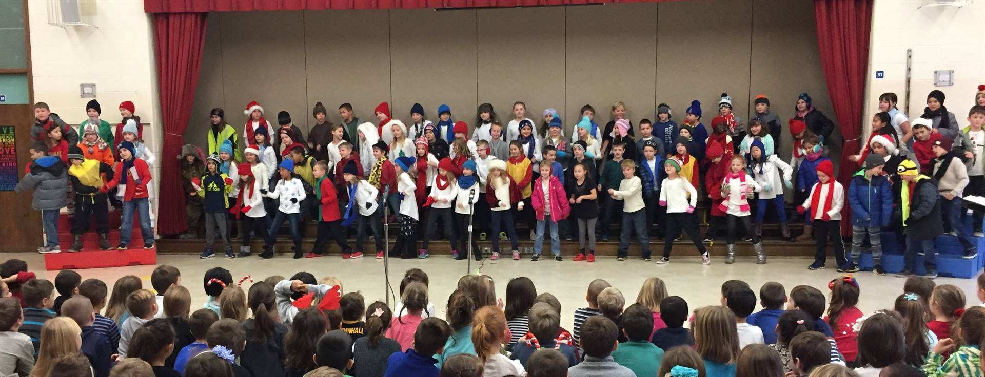 3rd Grade Musical Production 8