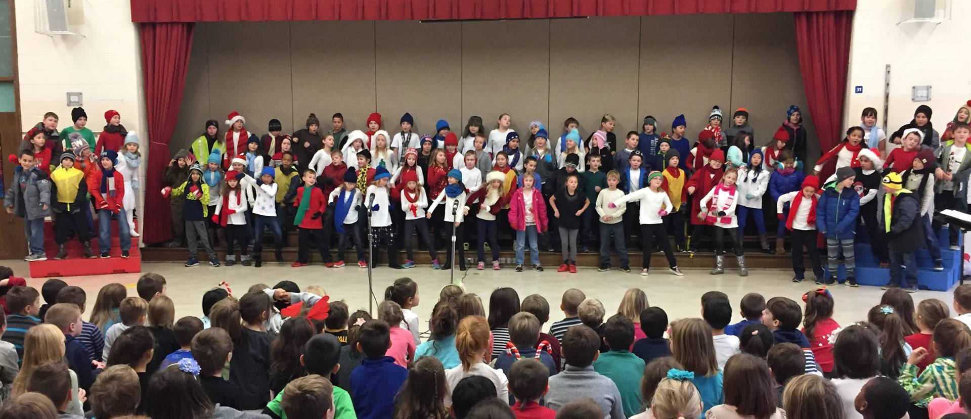 3rd Grade Musical Production 7