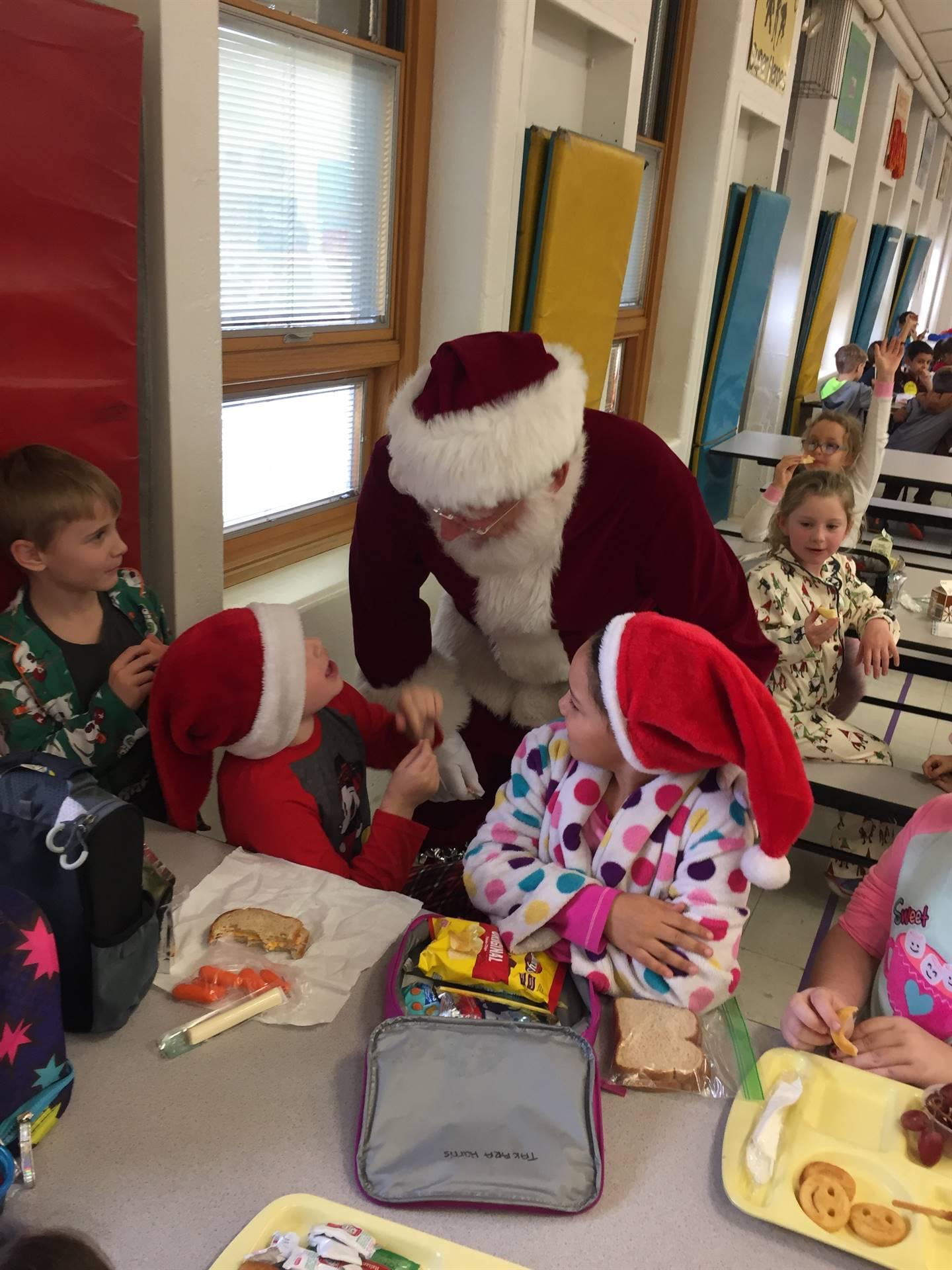 Santa visit