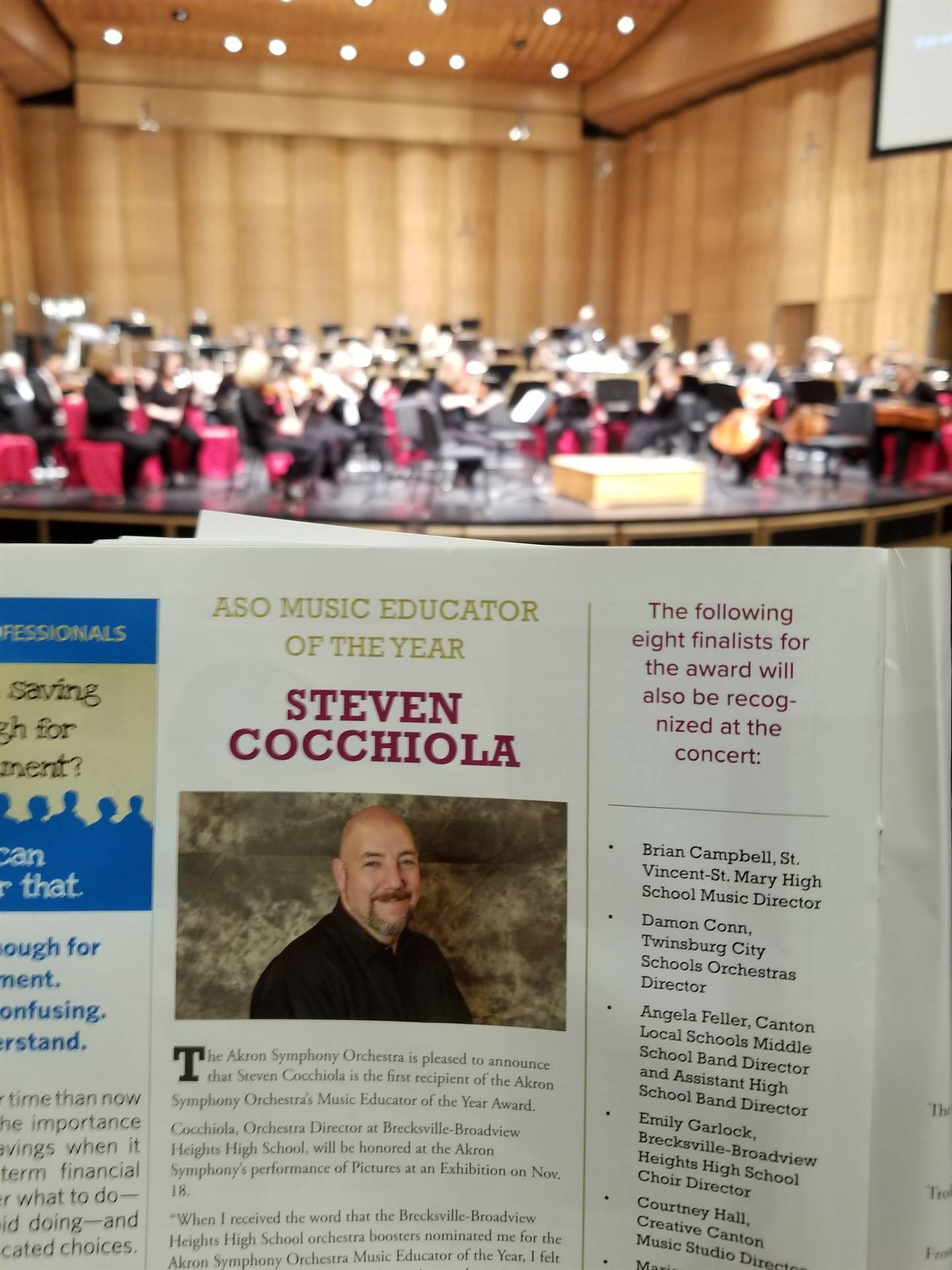 Congratulations Steve Cocchiola!