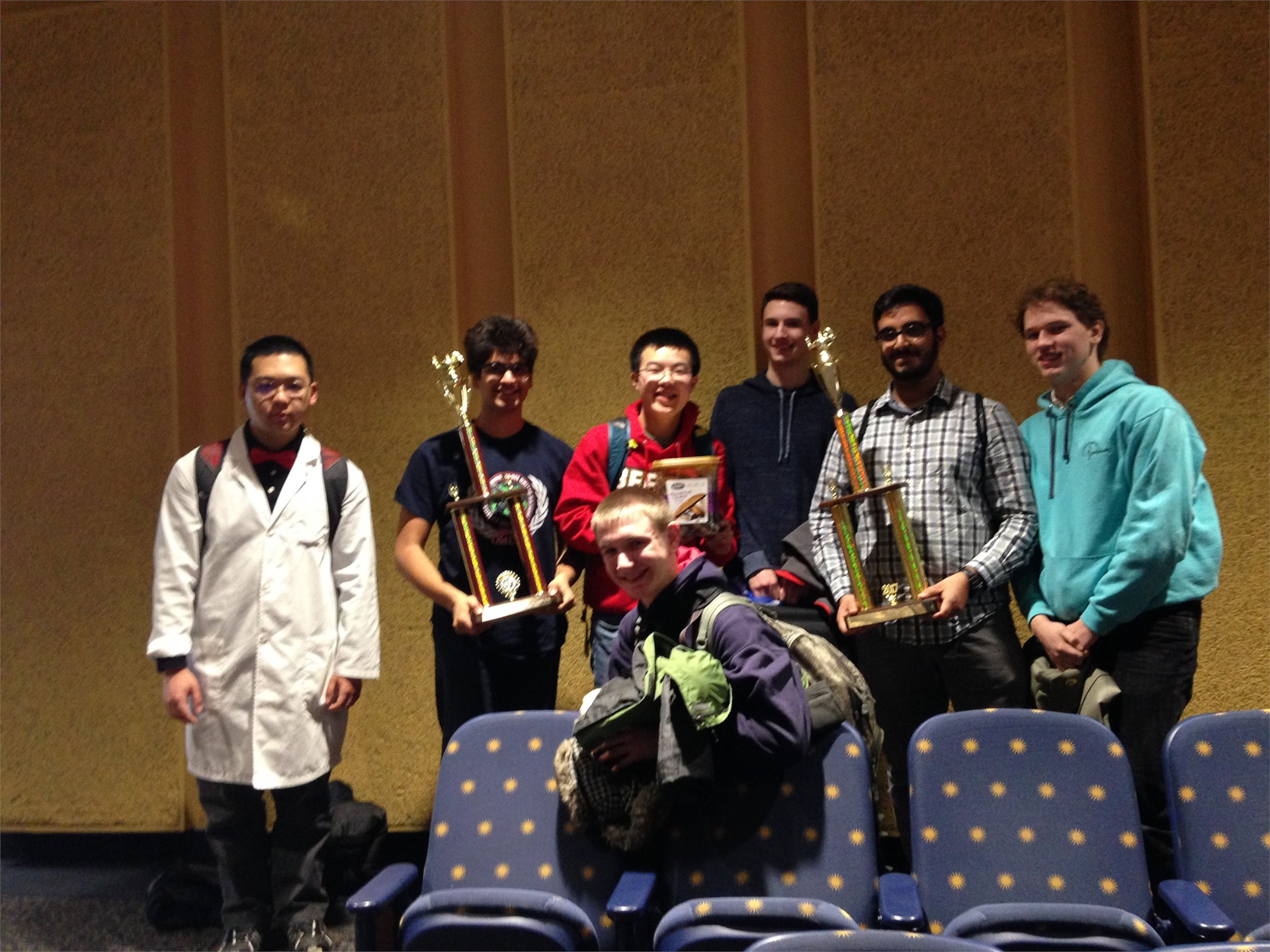Academic Challenge Brings Home the Gold!