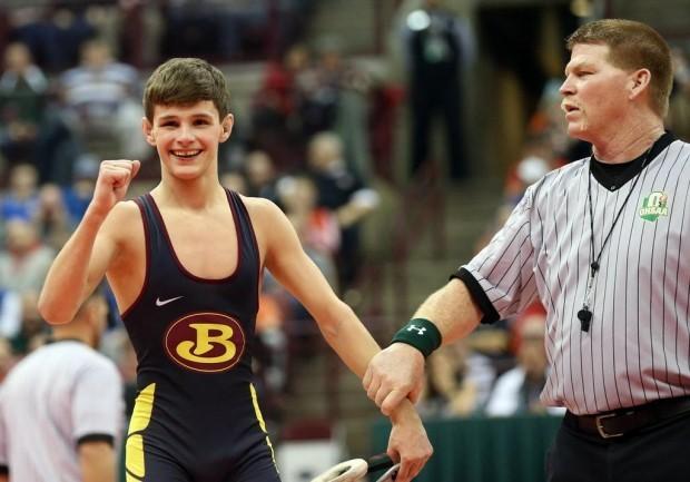 State Champion Julian Tagg