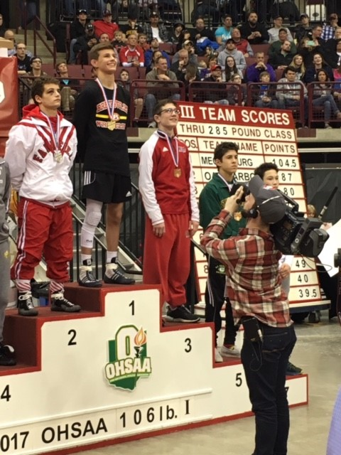 OHSAA State Wrestling Champion