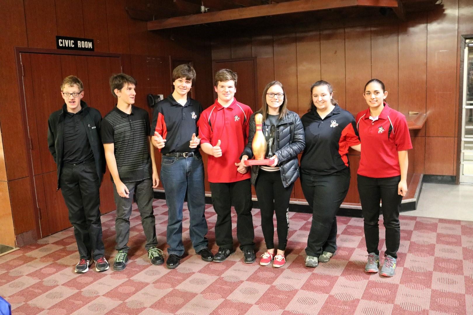 Golden Pin Champions JV Bowling