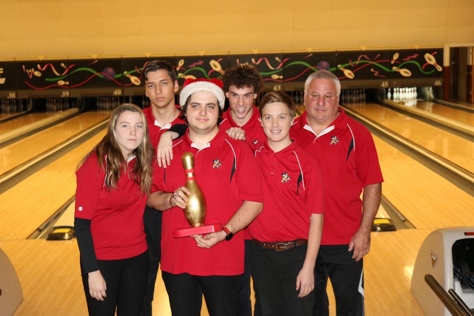 Varsity Bowling Golden Pin Champions!