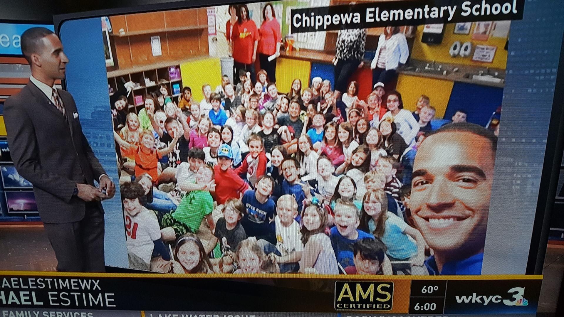 Students learn about weather