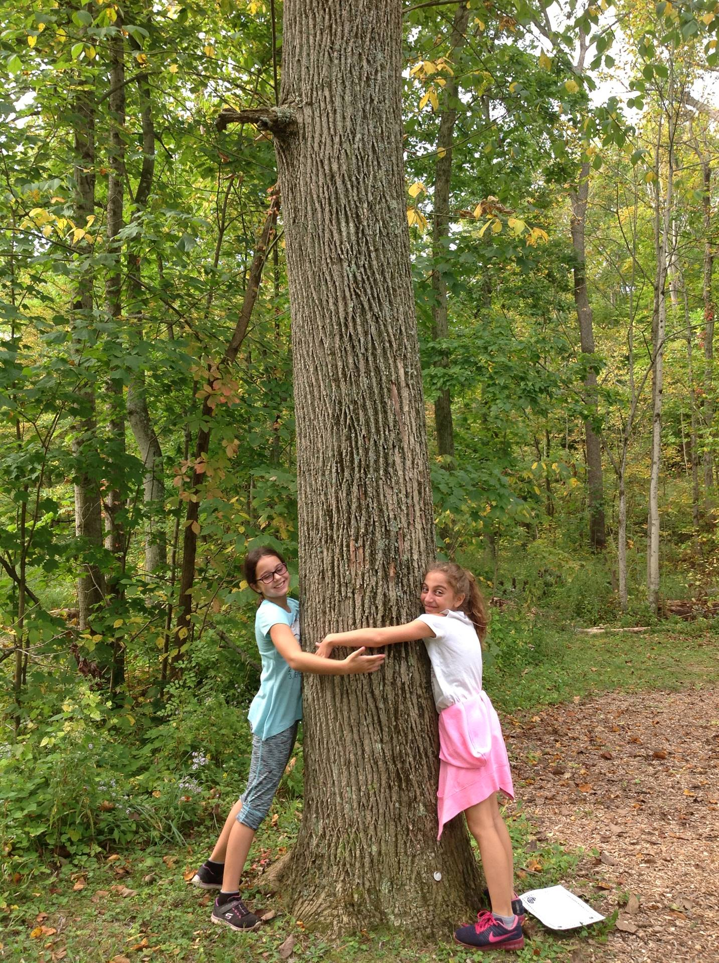 Girls at the Metroparks field trip