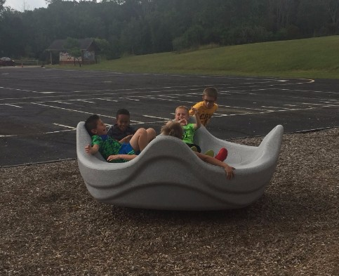 Boys on playground