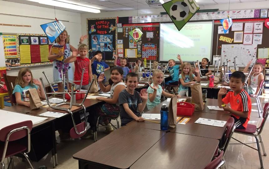 Mrs. Pagel's class