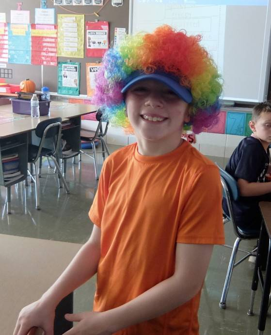 Spirit Day 2-Silly Hair or Hat Day 24