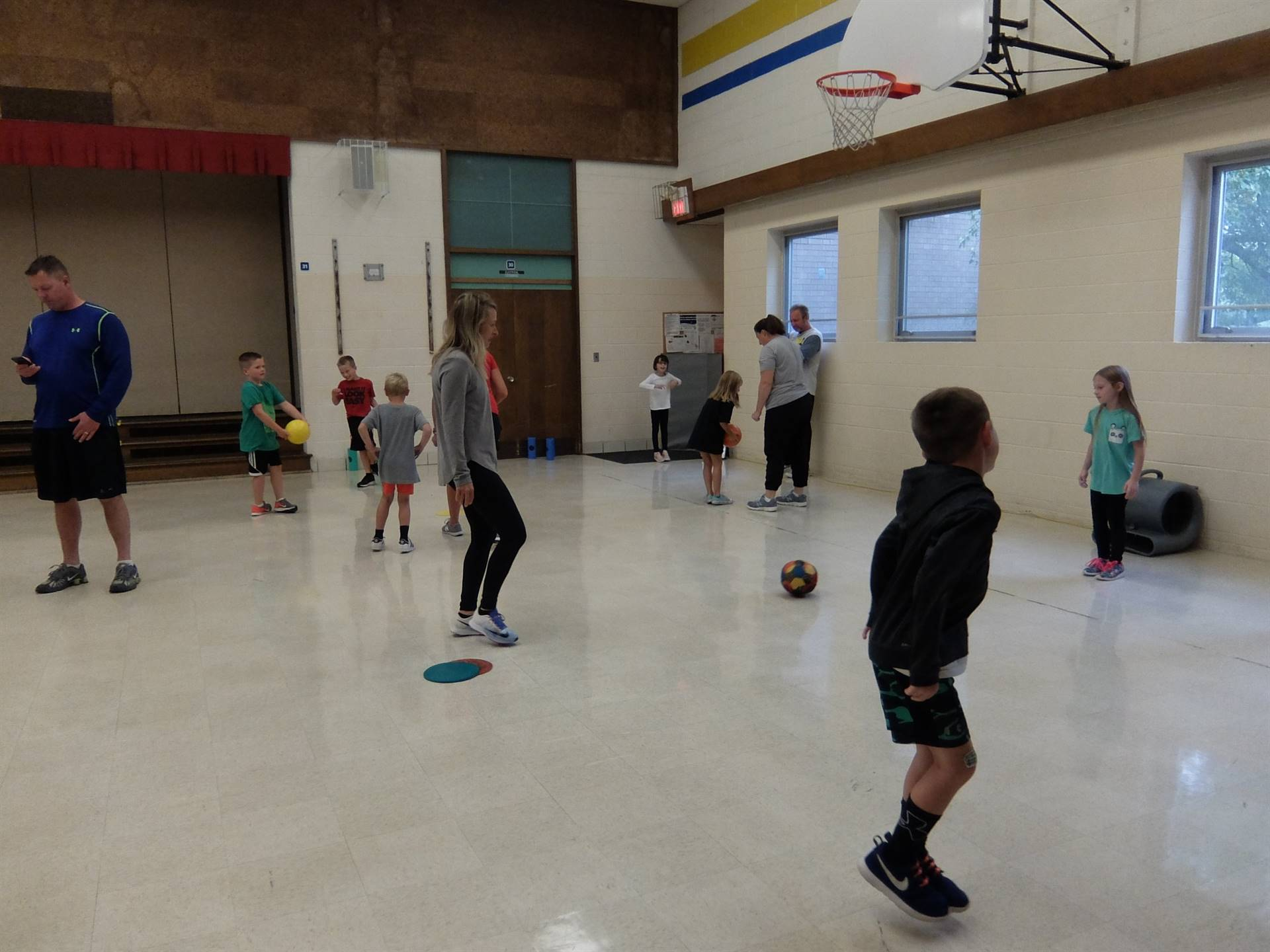 Take Your Parent to P.E.-Monday 10