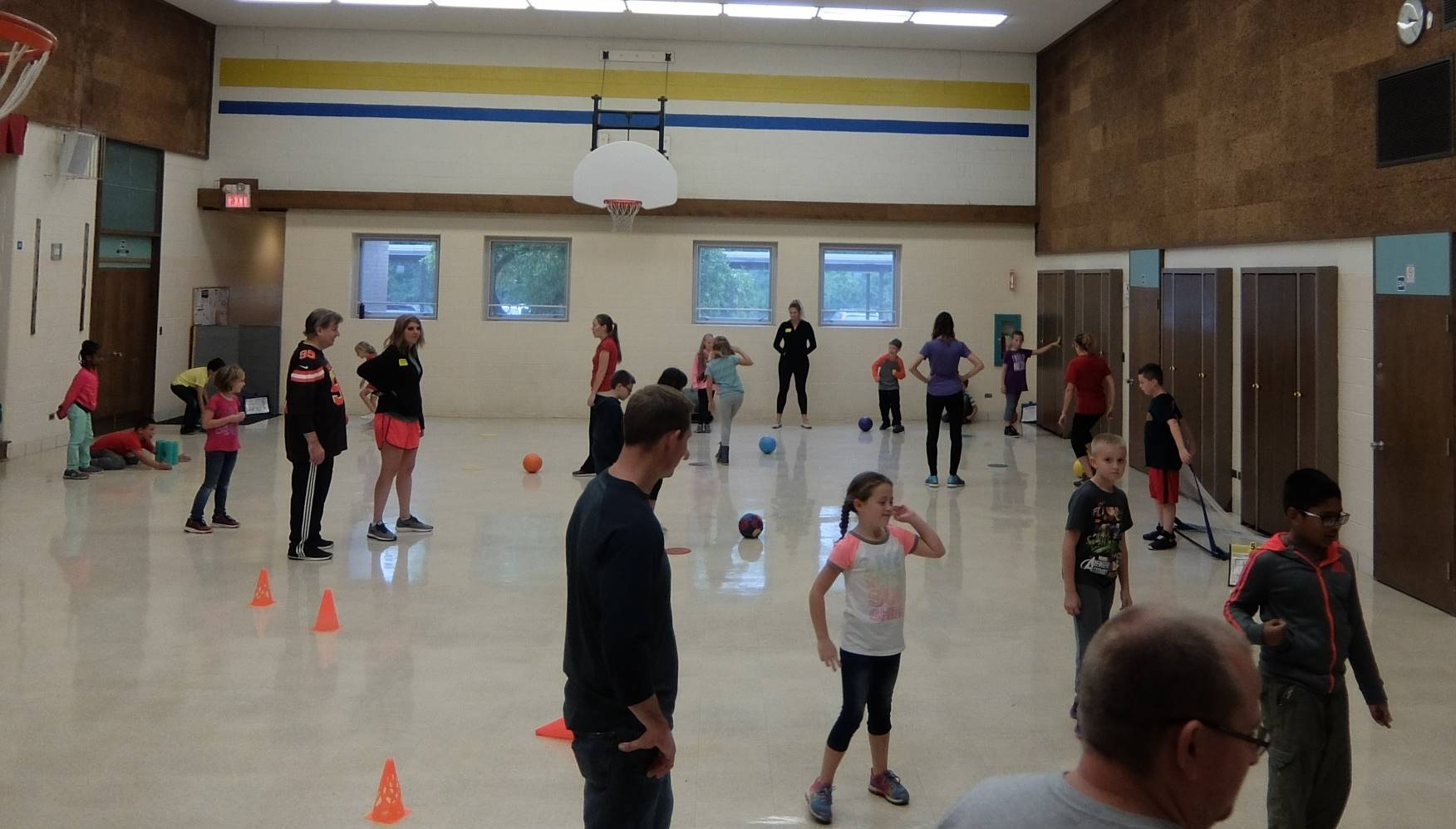 Take Your Parent to P.E.-Monday 20