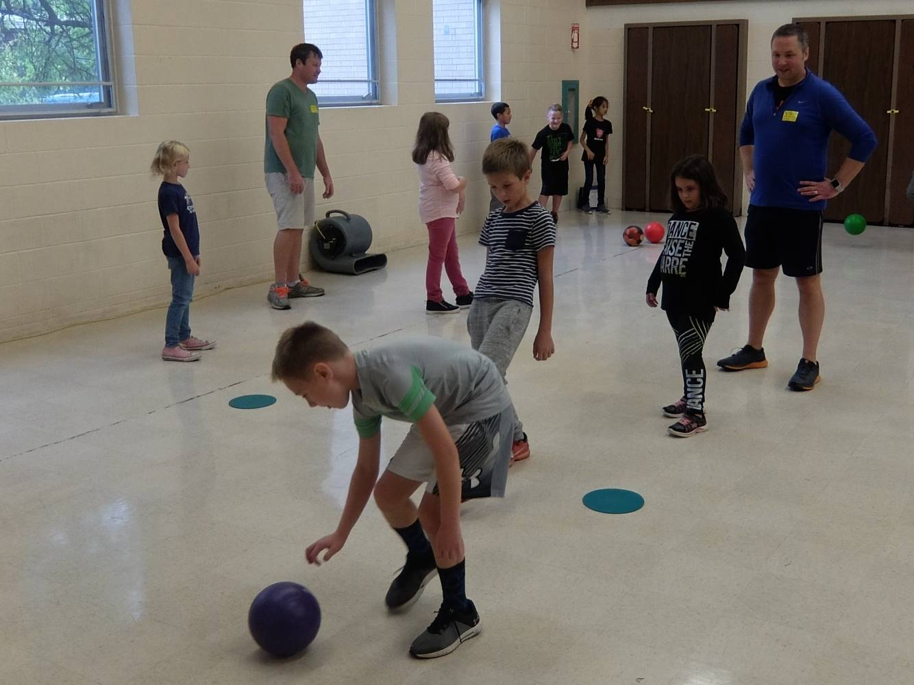 Take Your Parent to P.E.-Tuesday 19