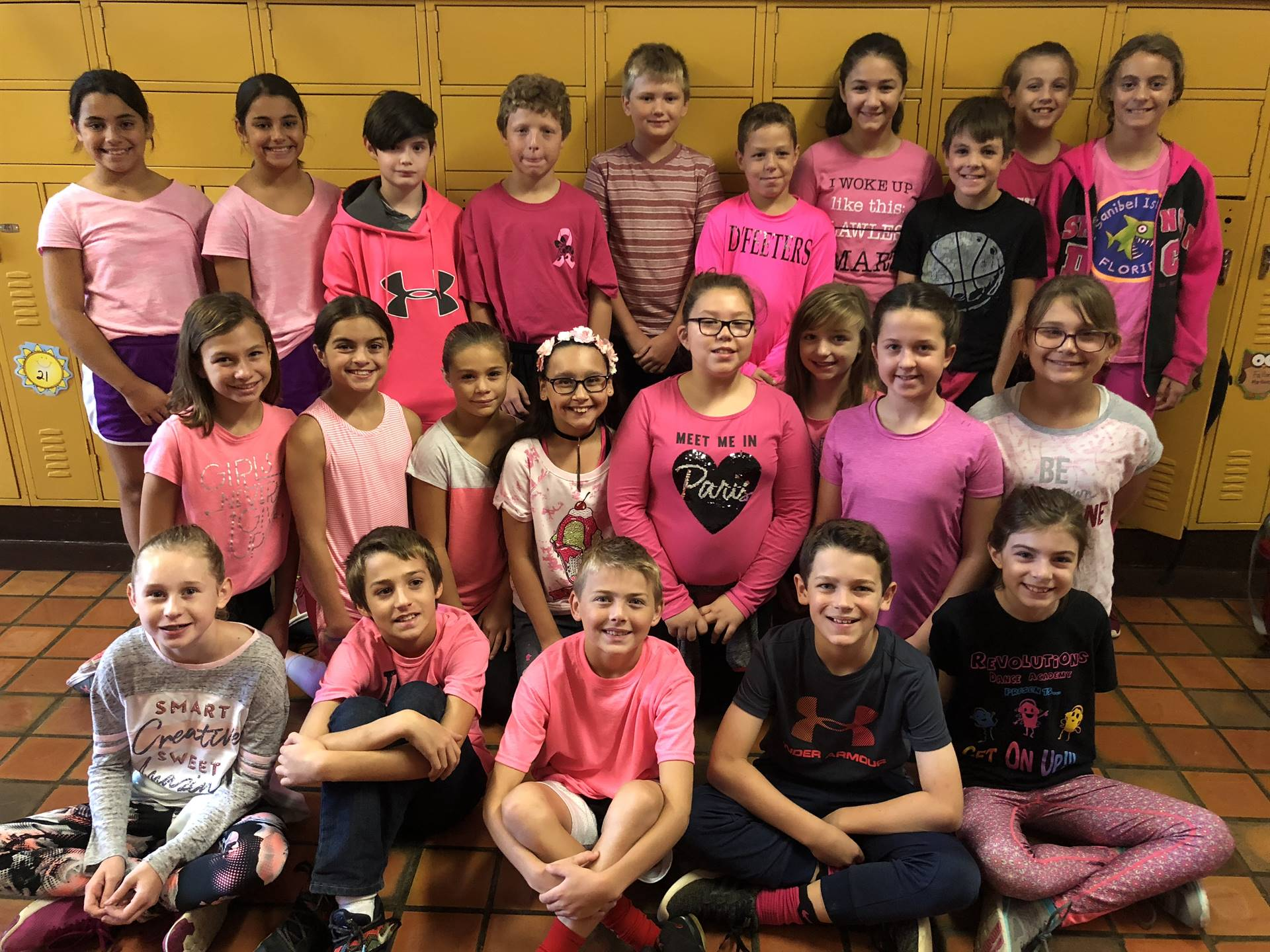 Pink Day Mrs. Reeves