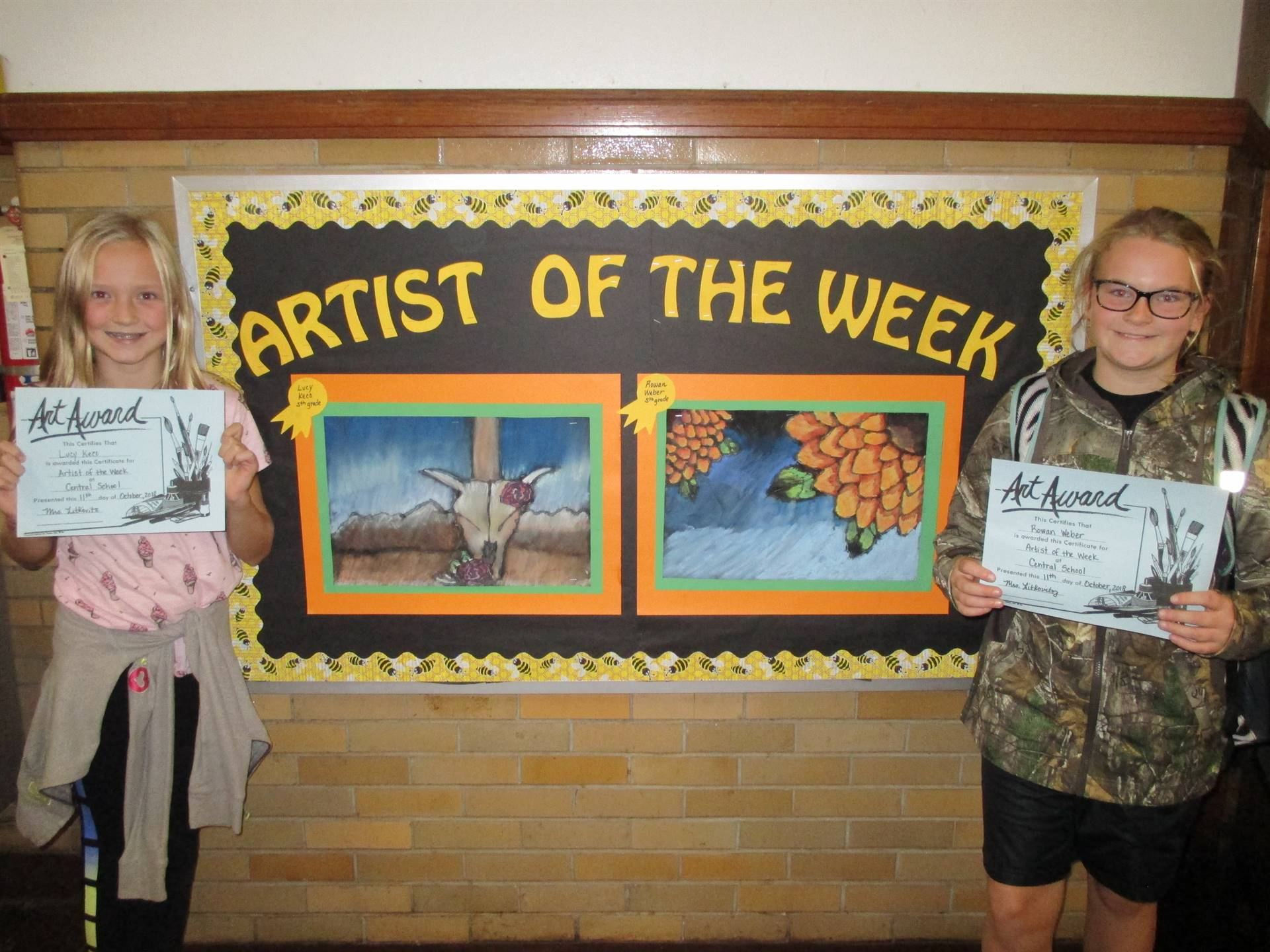 Artists of the Week