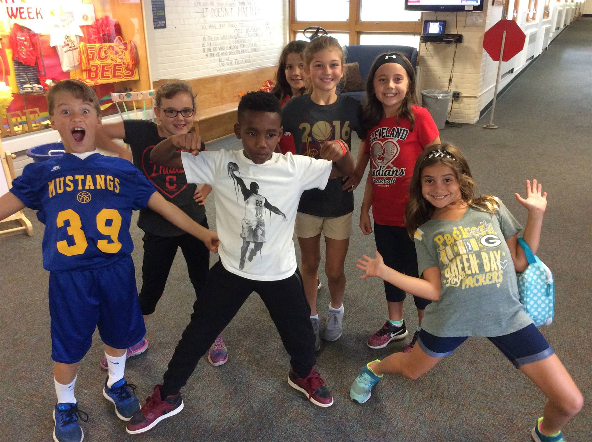 Spirit Week - Favorite Sports Team