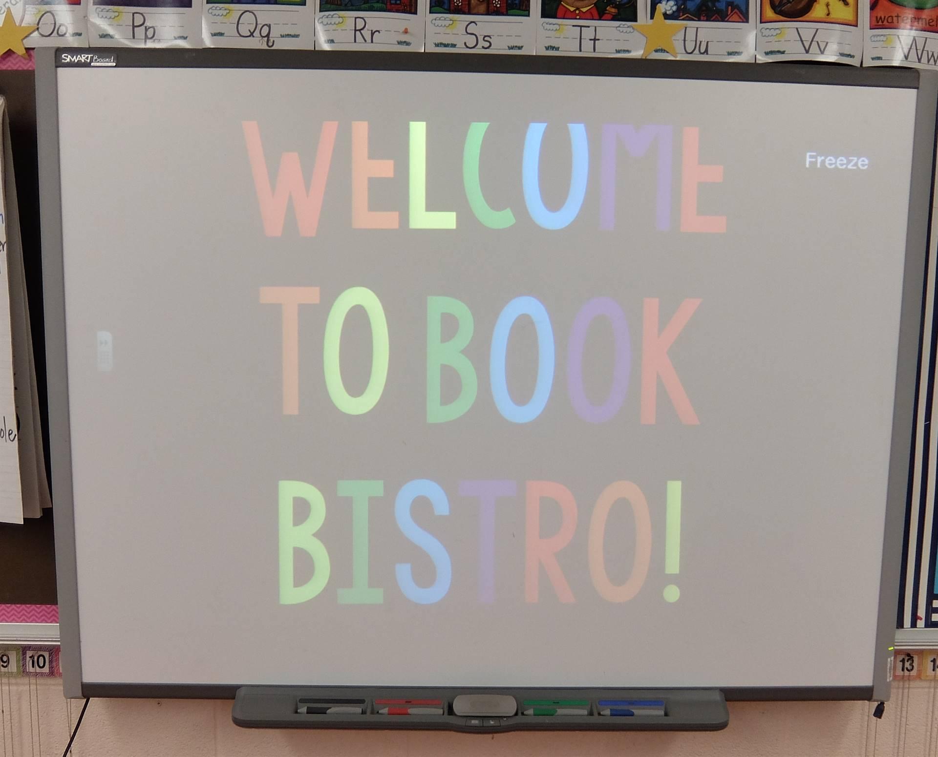 1st Grade Book Bistro 1