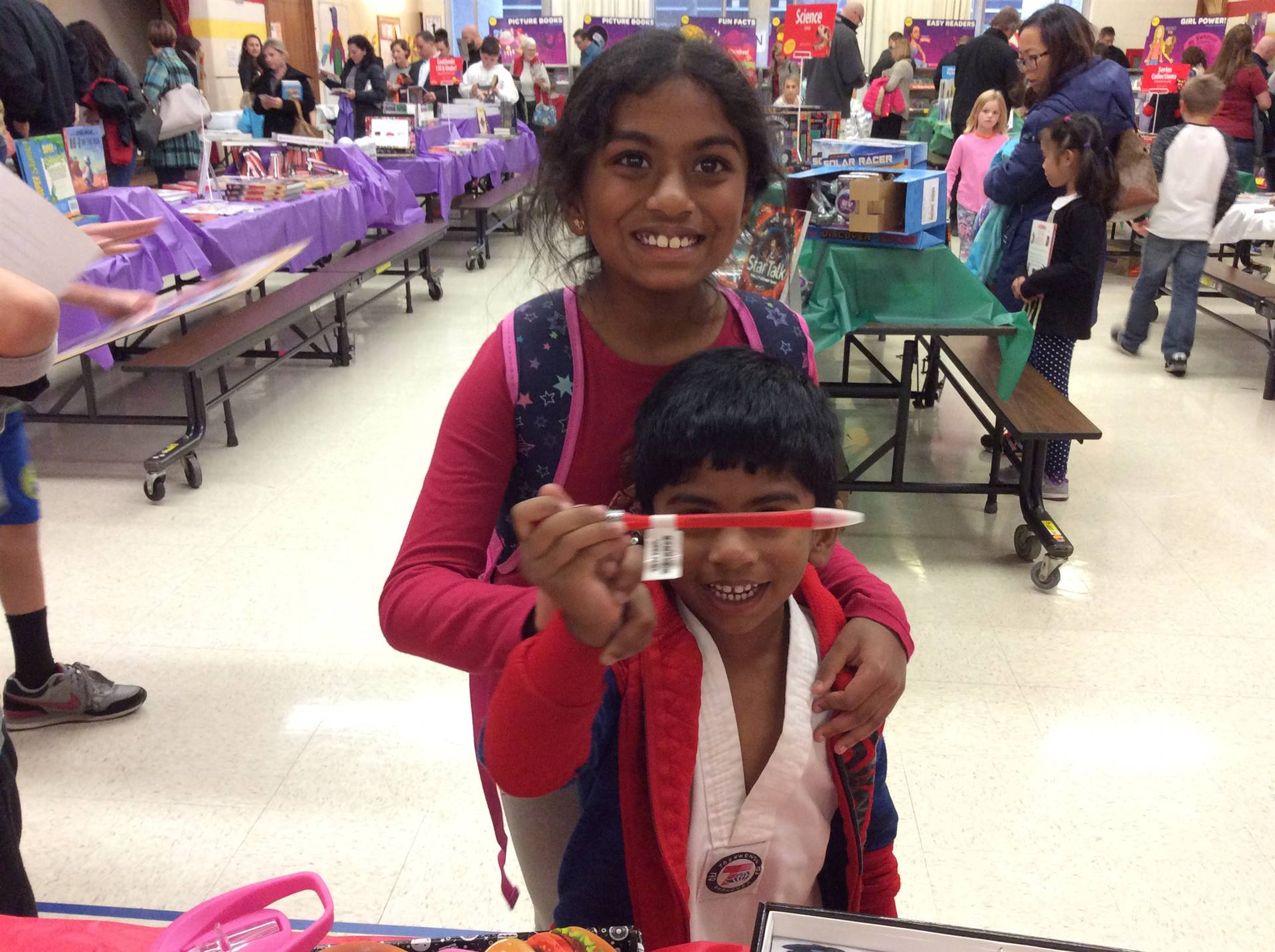 Open House and Book Fair