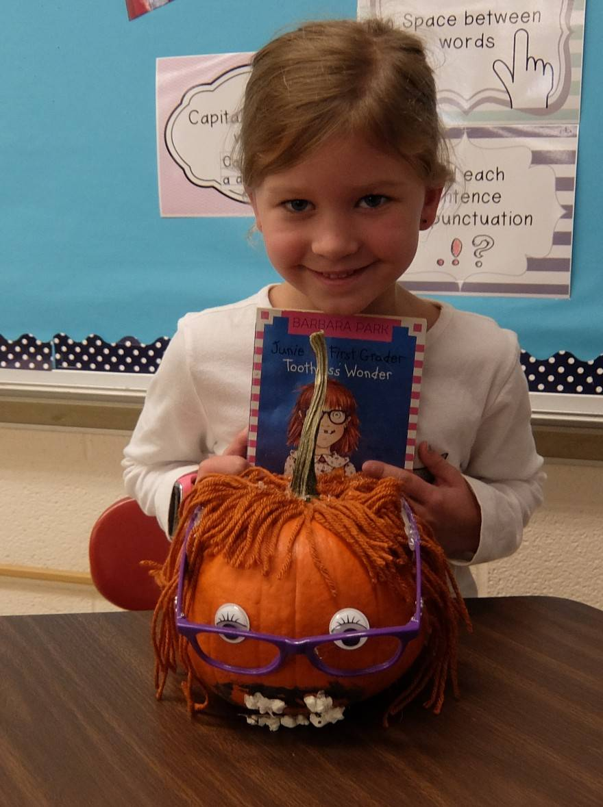 Favorite Book Pumpkins 24