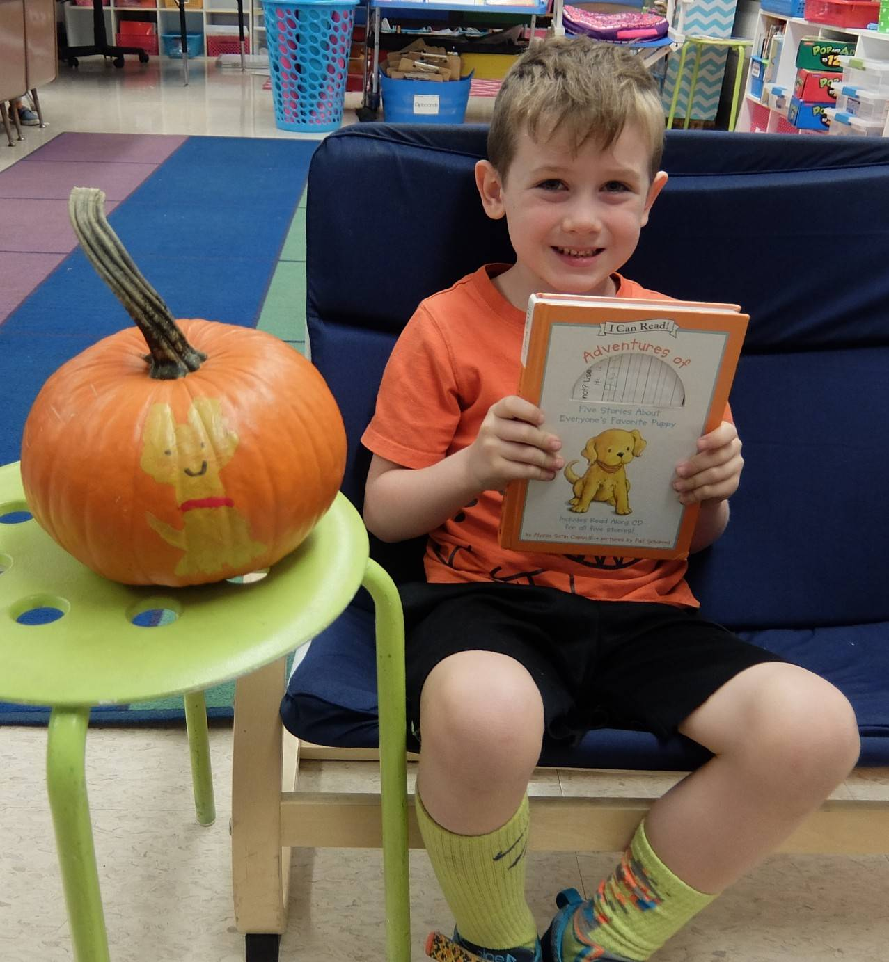 Favorite Book Pumpkins 15