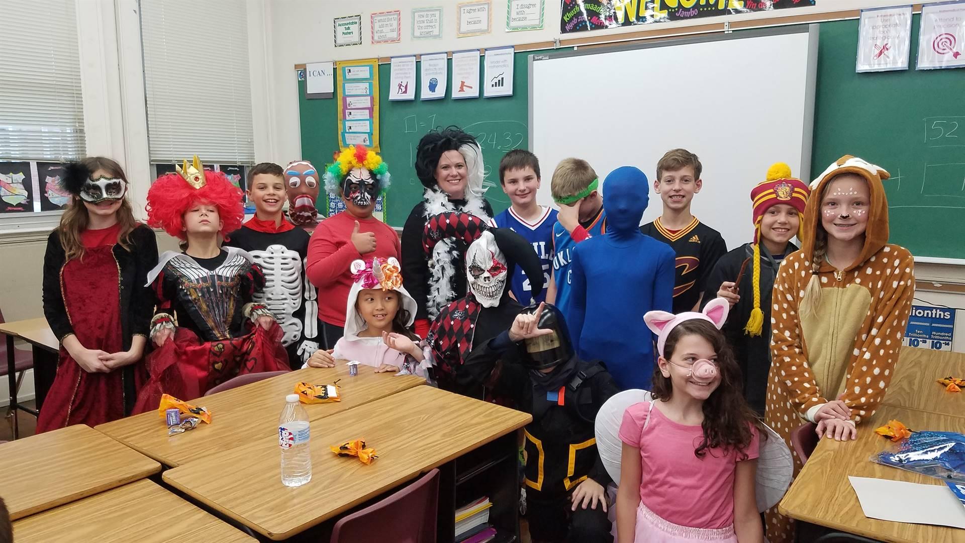 Halloween Class Party
