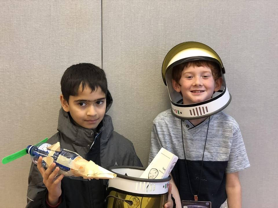 Hilton's Young Astronauts 8