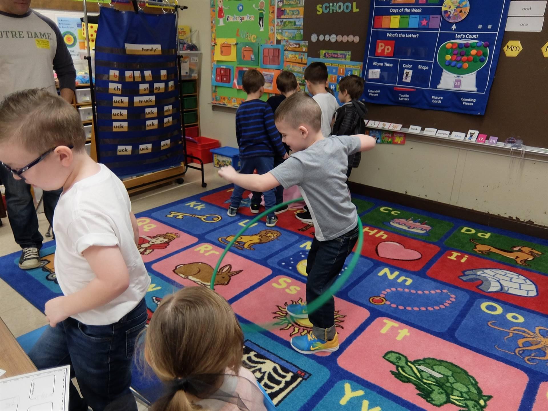 Kindergarten 50's Day 1