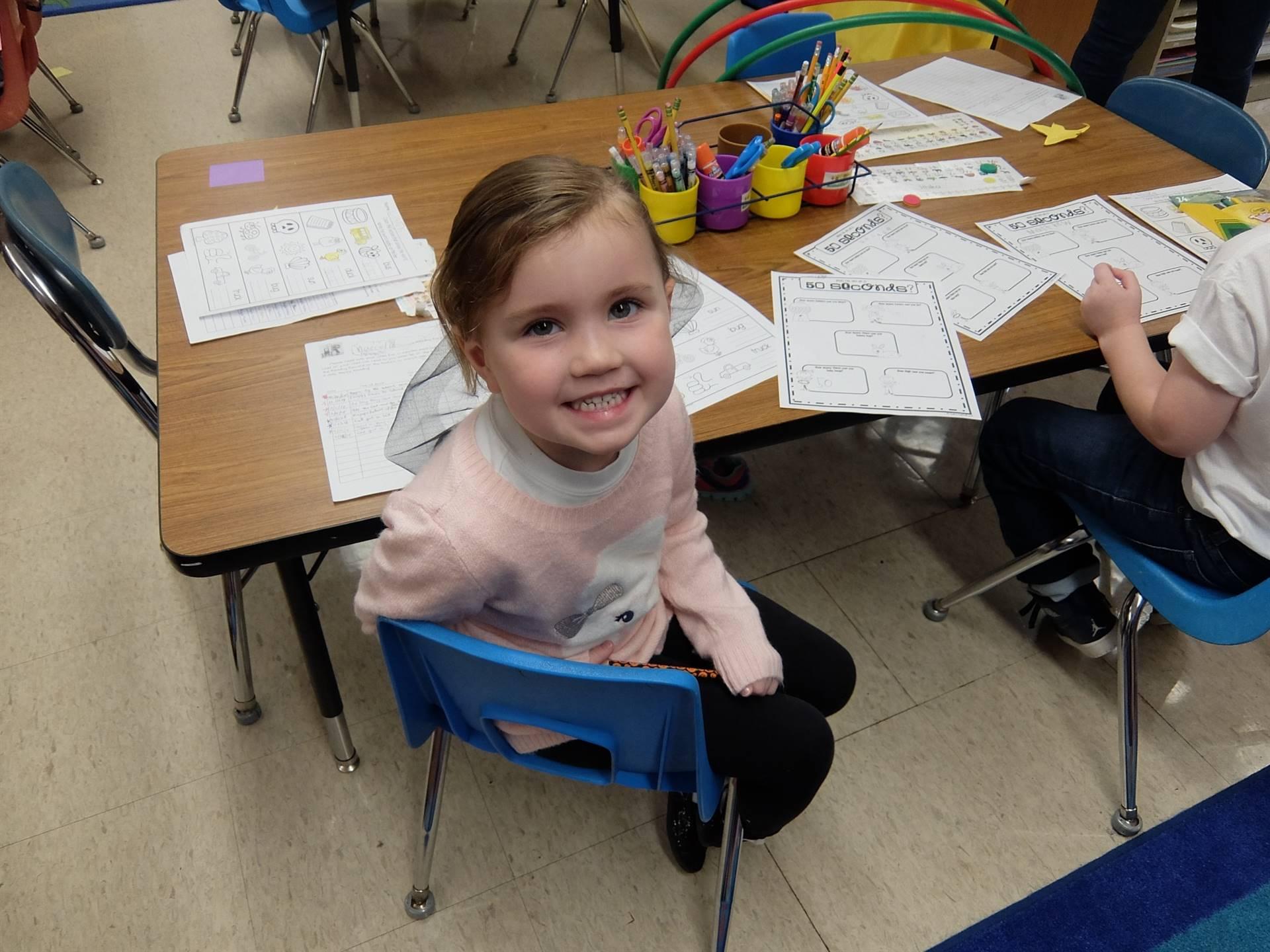 Kindergarten 50's Day 3