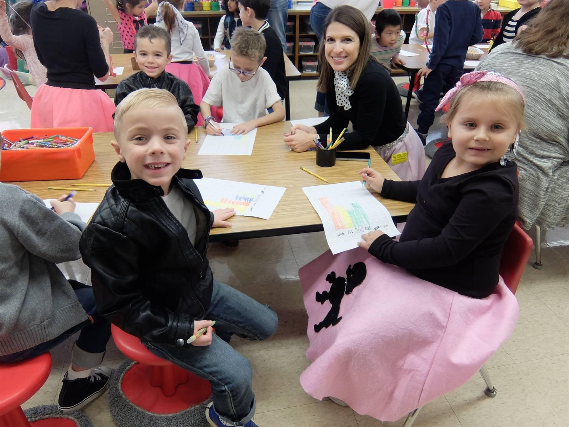 Kindergarten 50's Day 6