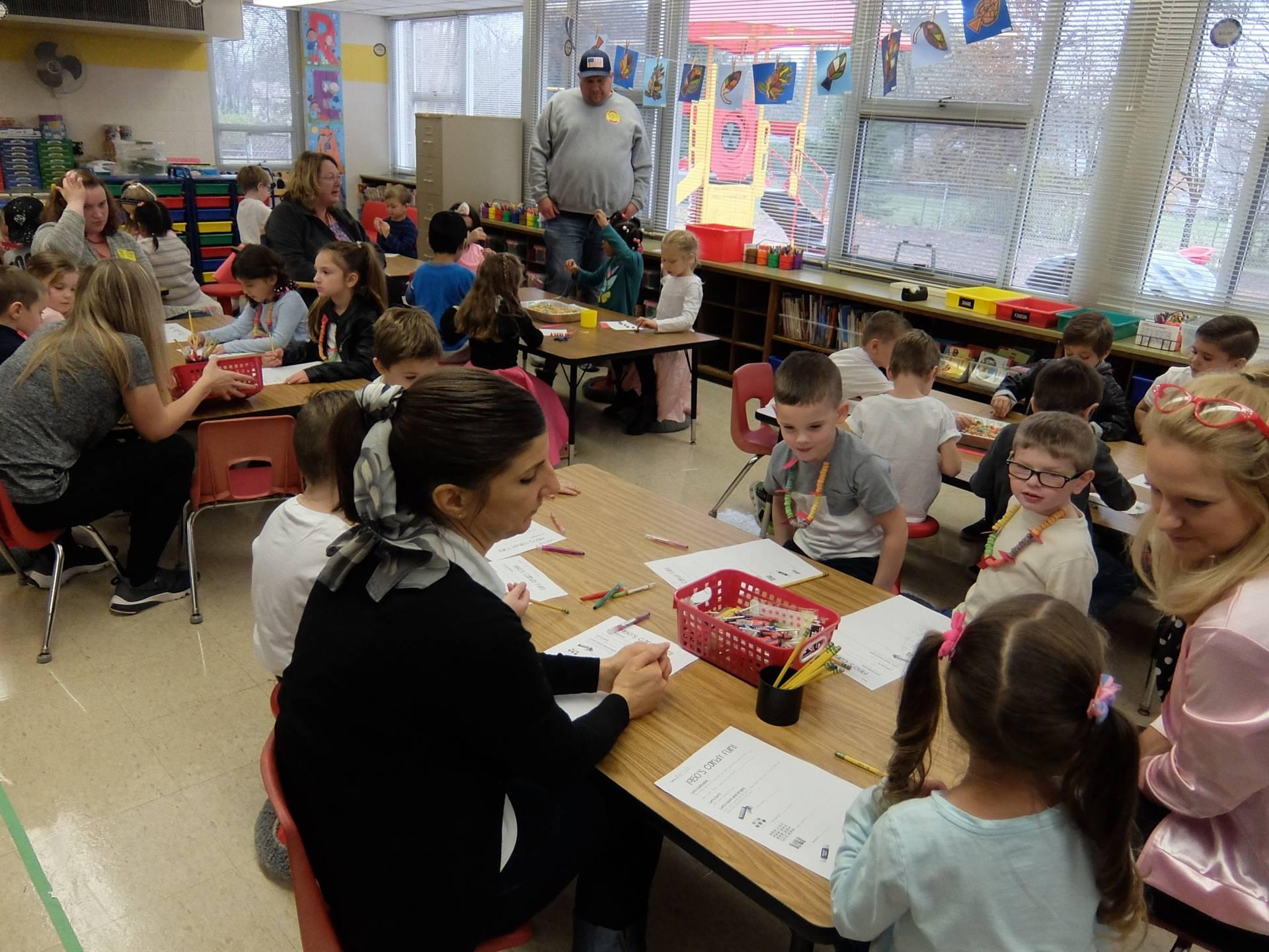 Kindergarten 50's Day 12